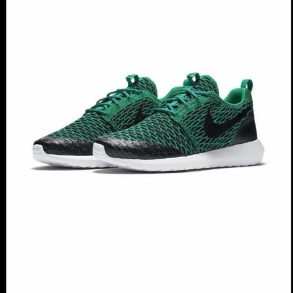 Nike Other - Men's Nike Roshe NM Flyknit Shield Running Shoes
